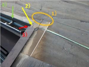 屋根ケラバ不具合箇所