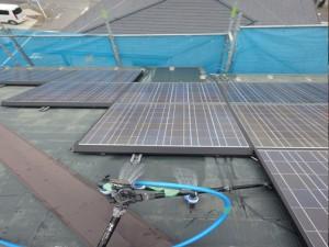 屋根の散水調査