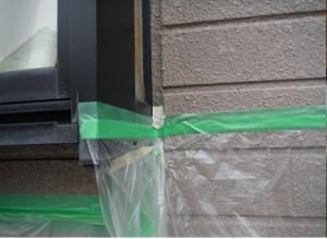 出窓枠散水調査