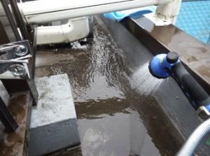 alc屋上防水立上り散水調査