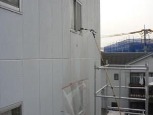 ALC外壁散水調査