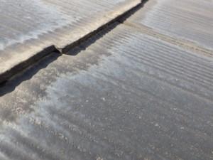 屋根塗り替え時に縁切りがされていない