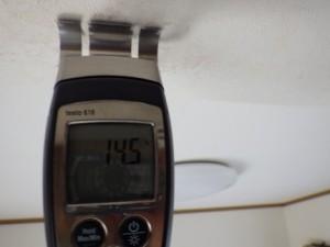 散水調査中水分計測定値