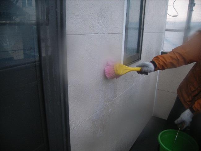 カビ落とし除菌剤処理