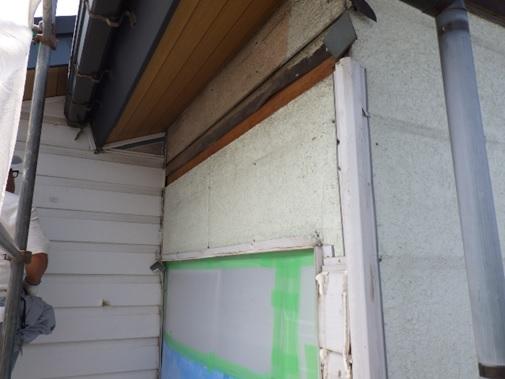 外壁サイディング撤去