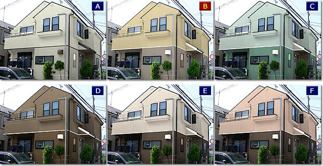 「カラーシミュレーション 外壁」の画像検索結果